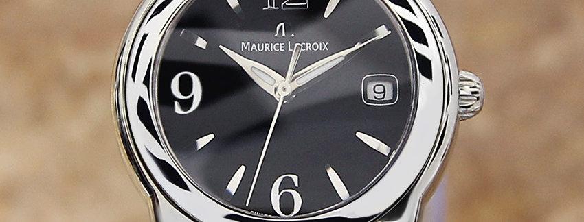 Maurice Lacroix SH1014 Black Dial Watch