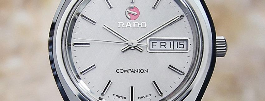1970's Rado Companion Watch