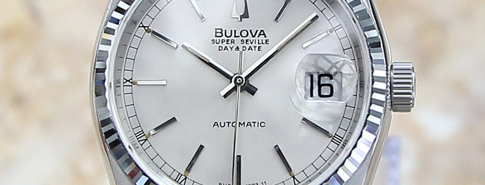 Bulova Super Seville Silver Dial Watch