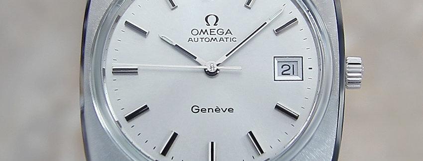 1970's Omega Geneve 36mm Swiss Watch