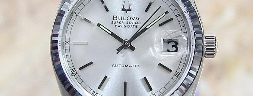 1980's Bulova Super Seville Men's Watch