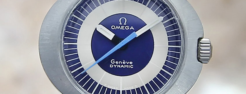 1960's Omega Geneve Dynamic Swiss Watch