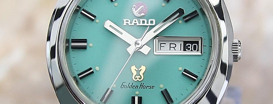 1970 Rado Golden Horse Watch