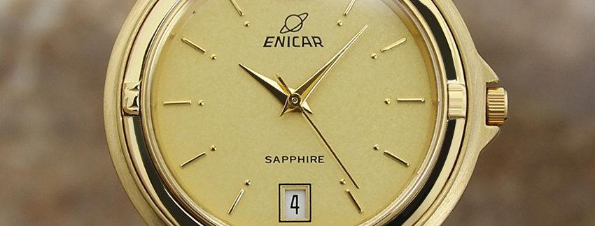 Enica  Exquisite Swiss Made 1990 Men's Watch