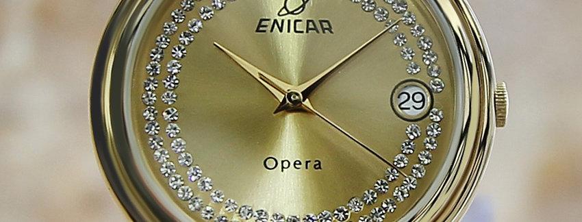 Enicar 33mm Swiss Made Men's Watch
