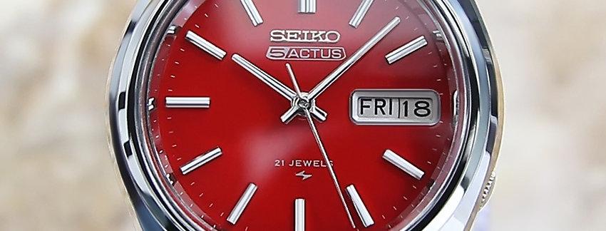 1975 Seiko 5 Actus Watch