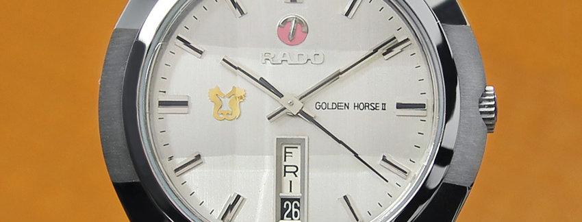 Rado Golden Horse 39mm Vintage Watch