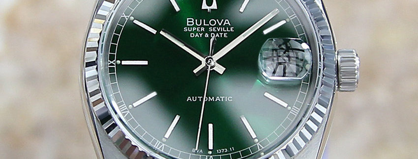 36mm Bulova Super Seville Swiss Made Men's Watch