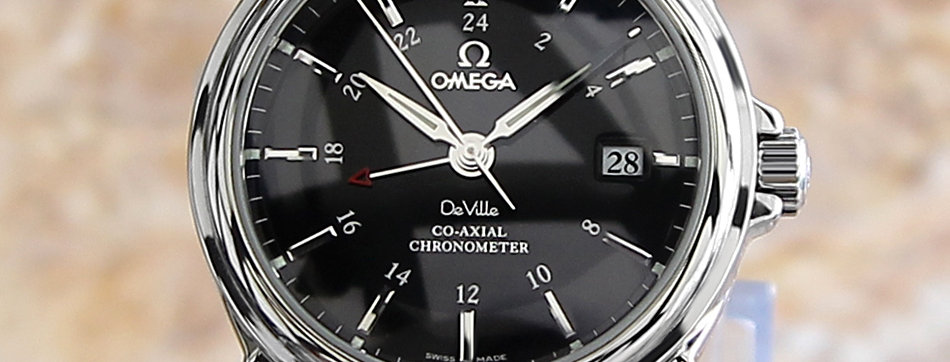 2012 Omega DeVille Co Axial Watch