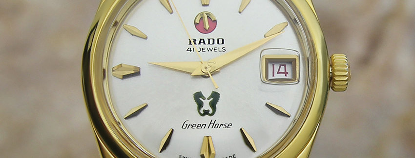 Rado Green Horse 35mm Vintage Watch
