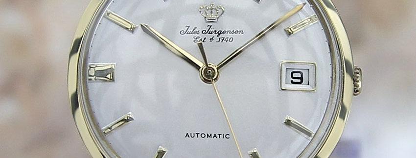 1960 Jules Jurgensen 18k Gold Men's Watch