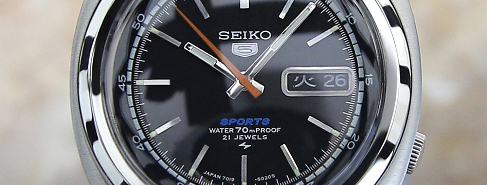 1970 Seiko 5 Sports Watch