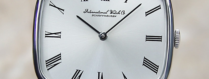 IWC 33mm Rare Vintage Watch