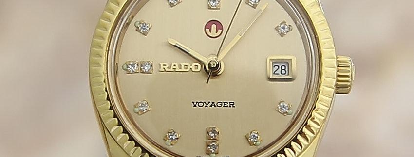 Rado Voyager Original Rare Automatic 1960s Ladies Watch