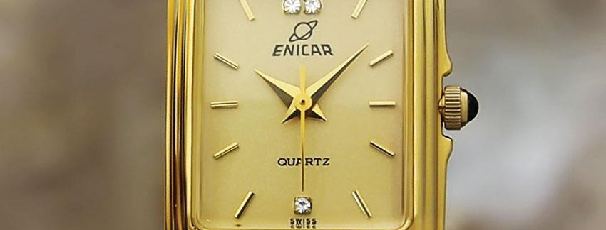 Enicar  Ladies Exquisite Swiss Made 1990 Luxury Watch