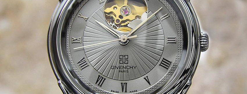 Givenchy Copernic Heartbeat Skeleton  Swiss Made Men's Watch