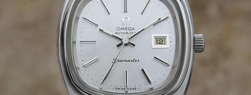 1970 Omega Seamaster Ladies Automatic Watch