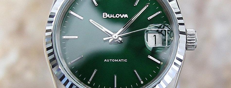 1980 Bulova Date Calendar Watch