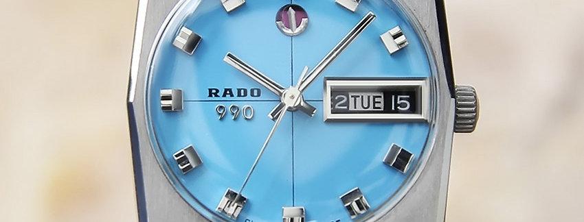 1960's Rado 990 Men's Dress Watch