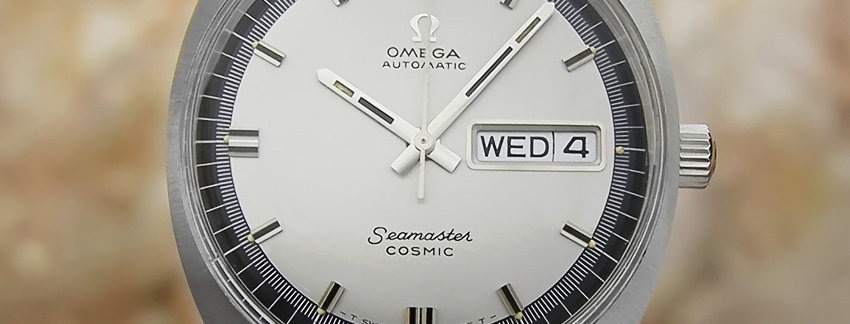 1970's Omega Seamaster Cosmic Watch