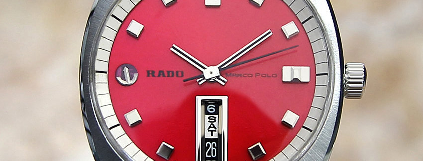 Rado Marco Polo Men's 37mm Watch