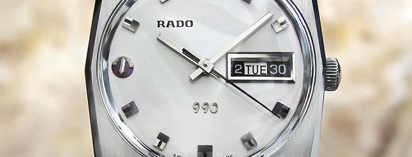 1960s Rado 990 Men's Watch
