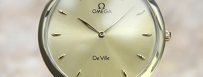 2000 Omega DeVille Swiss Watch