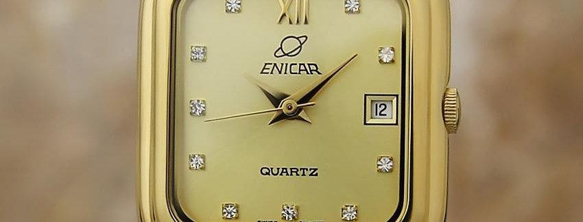 1990 Enicar Ladies  Luxury Watch