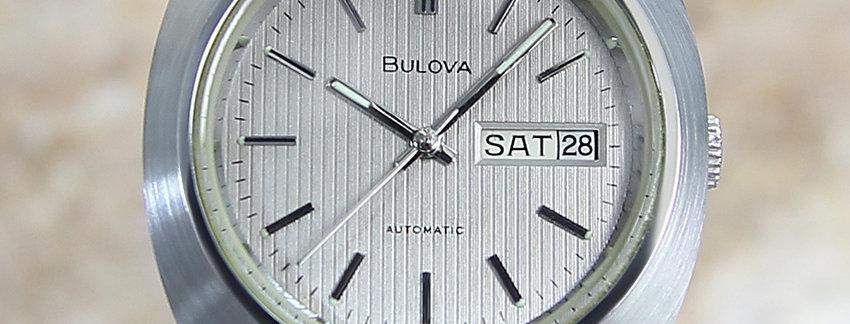 1970 Bulova Stainless Steel Men's Watch