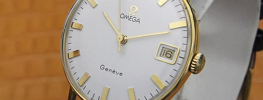 Omega Geneve Gold Plated  Men's Watch