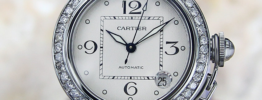 Cartier Pasha 2324 Diamond  Men's Watch