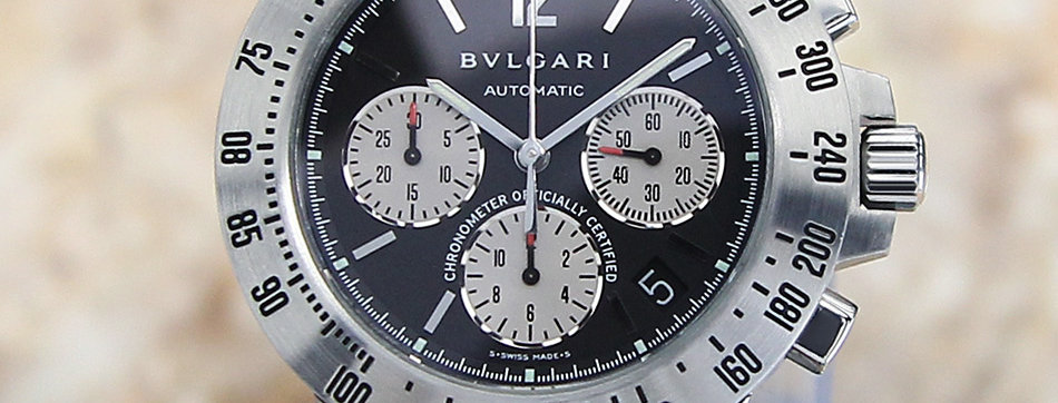 Bulgari Diagano CH Automatic Watch