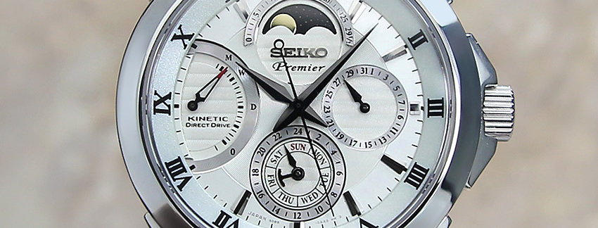 Seiko Premier 5D88 0AA0 Watch for Men | WatchArtExchange