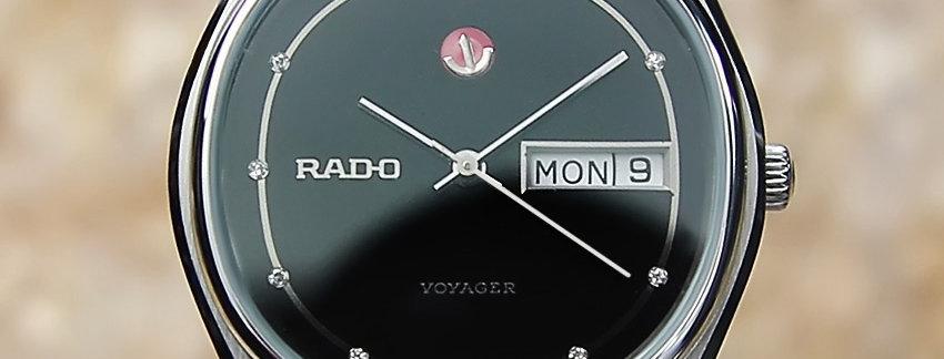 1970s Rado Voyager Men's Watch