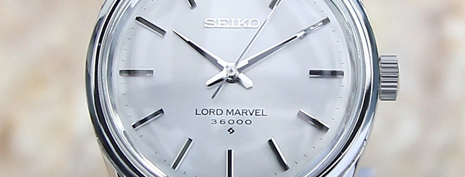 Seiko Lord Marvel Watch for Men