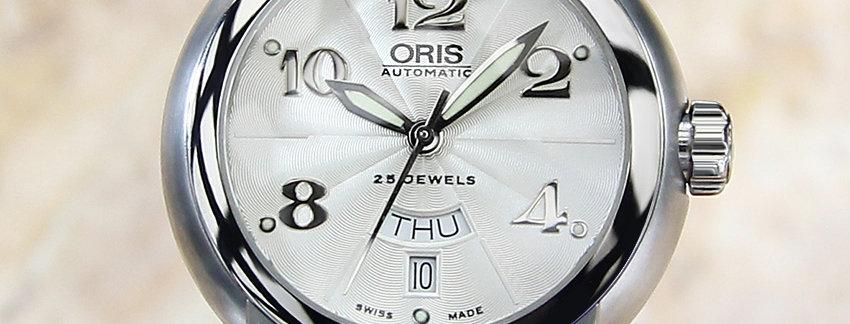 Oris 7517 Day Date Men's Luxury c2000 Auto 41mm Watch
