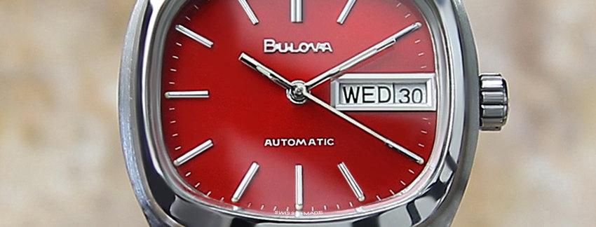 Circa 1970's Bulova N7 Swiss Made Men's Watch