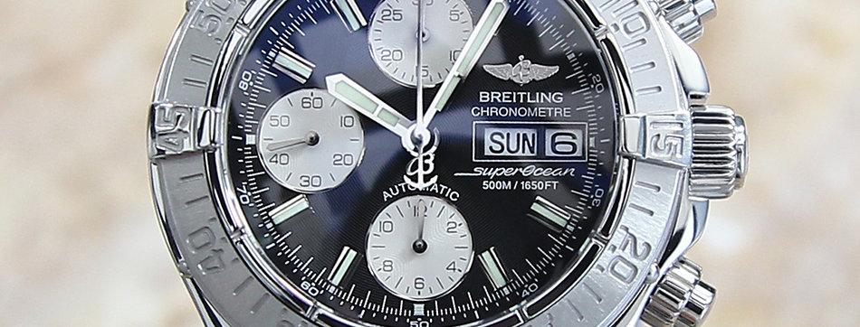 Breitling Super Ocean Vintage Watch