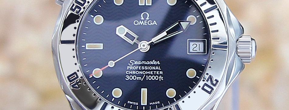 Omega Seamaster Professional 300m Diver James Bond Watch