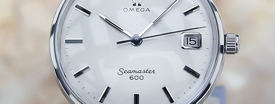 Rare Omega Seamaster Watch