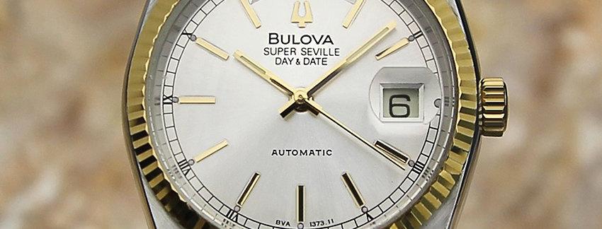 1980's Bulova Super Seville Swiss Men's Watch