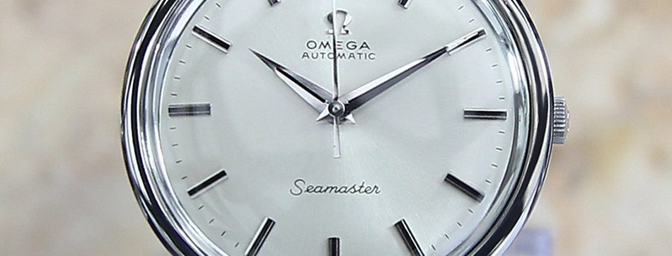 1966 Omega Seamaster Cal 552 Watch