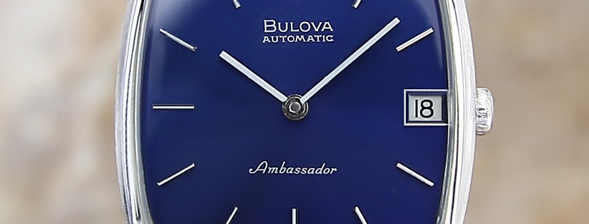 1970's Vintage Bulova Ambassador Men's Watch