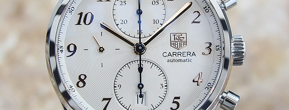 Authentic Tag Heuer Carrera Watch