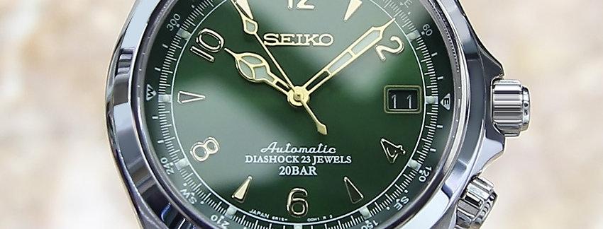 Seiko Alpinist 6R15 00E1 Men's Watch