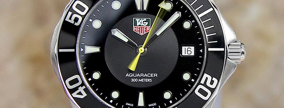Tag Heuer Aquaracer Diver 300M Men Swiss 2015 Watch