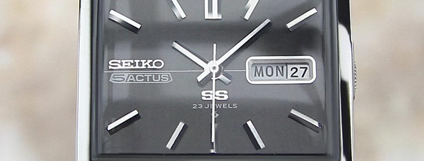 1972 Seiko Actus Watch