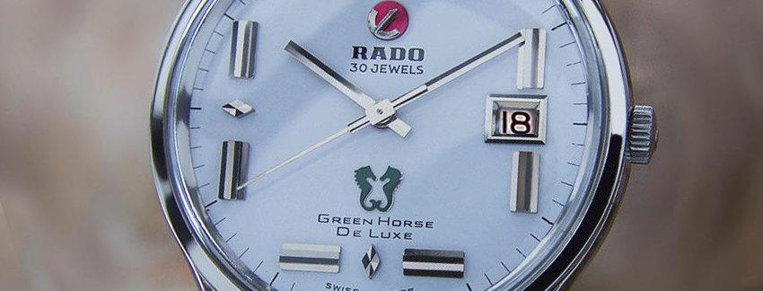 Rado Green Horse De Luxe Watches on Sale