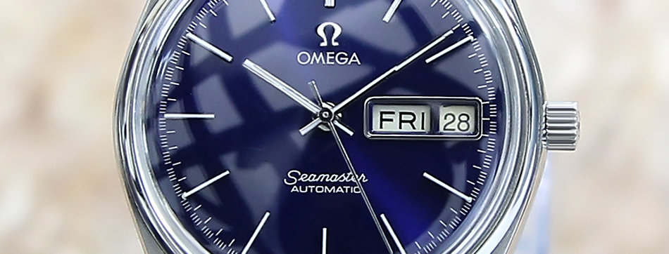 Omega Seamaster Cal Blue Dial Watch