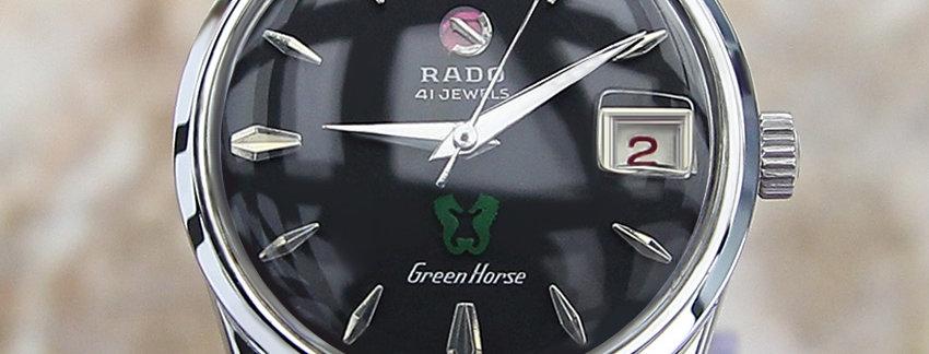 Rado Green Horse Watches on Sale